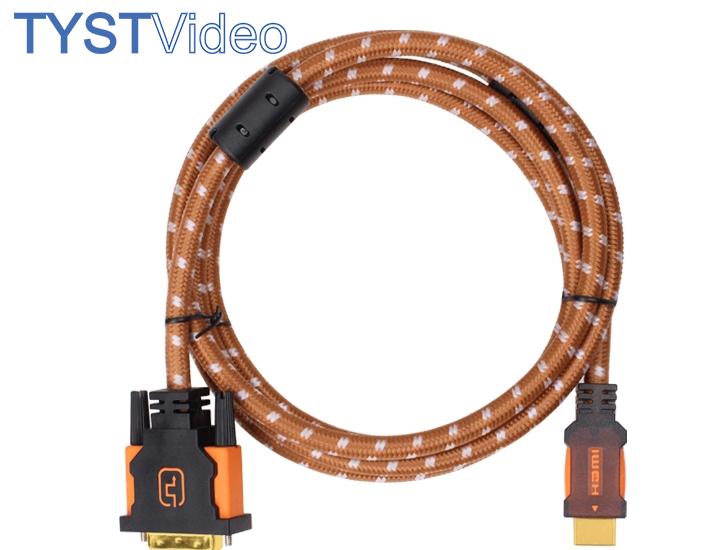 1.8米 DVI转HDMI线材